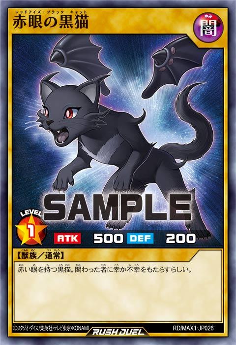 赤眼の黒猫