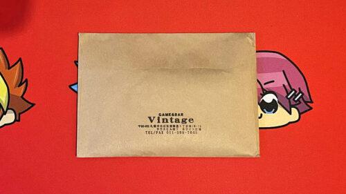【オリパ開封レビュー】2回目のGAME&BAR Vintageの3,000円オリパ!