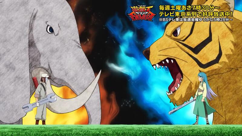 【遊戯王セブンス第35話の感想】高い守備力を持った獣族・獣戦場シリーズが新登場!