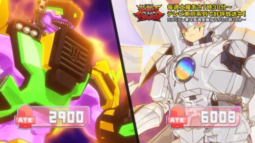 【遊戯王セブンス第39話の感想】鋼機神ミラーイノベイターが登場!魔法カードTCBで超パワーアップ!