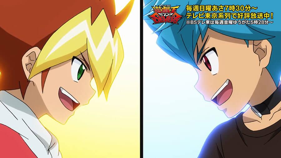 【遊戯王セブンス第51話の感想】王道遊我VSルークのライバル対決!