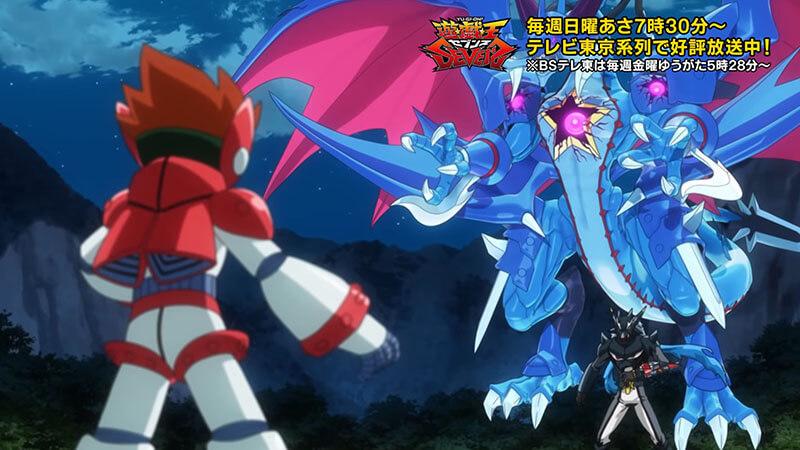 【遊戯王セブンス第67話の感想】フュージョン対決!魔導騎士族VSハイドラゴン族!